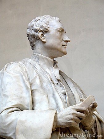 Estatua de sir Isaac Newton