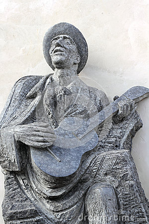 Estatua del músico