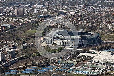 Estádio grande, Melbourne