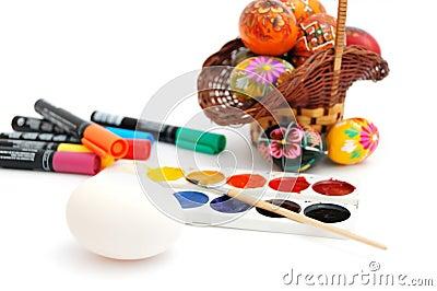 Ester eggs decoration