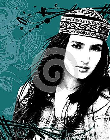 Free Estern Girl Stock Image - 6969821