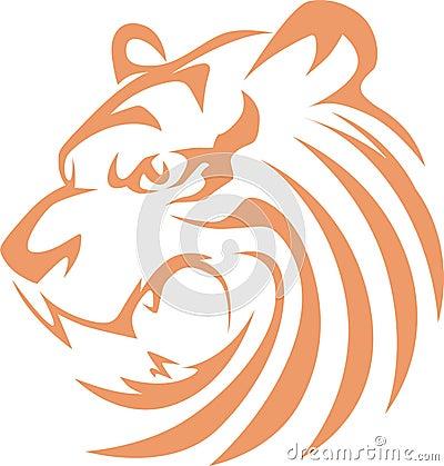 Estilo do Swish do tigre