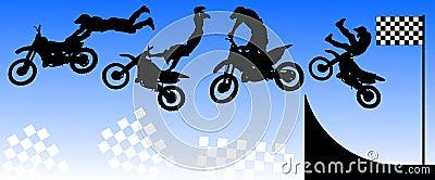 Estilo libre de Moto
