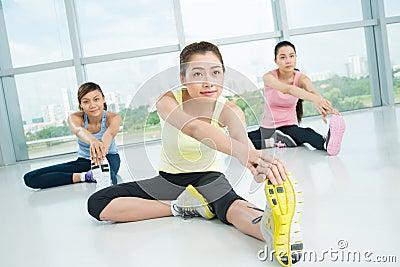 Estirar ejercicios