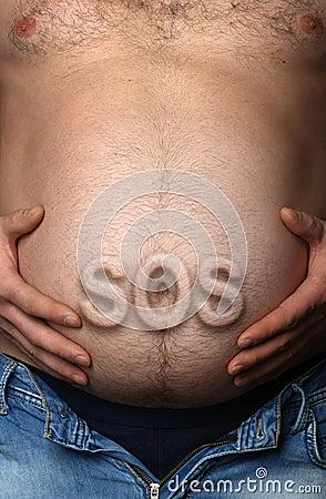 Estómago del hombre