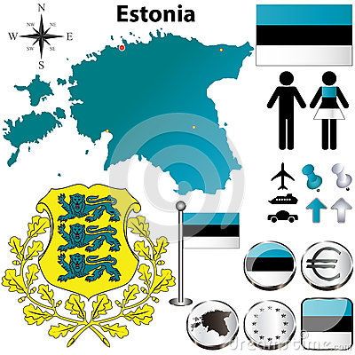 Estonia map