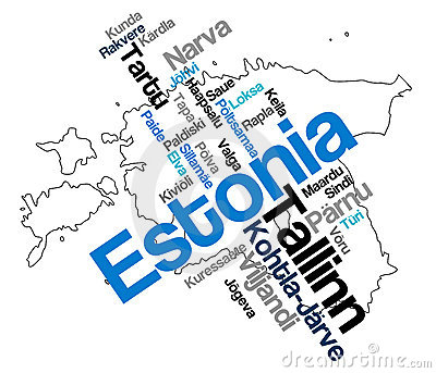 Estonia map and cities