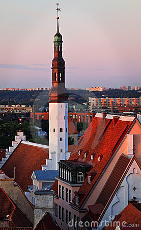 Estonia: Old town of Tallinn