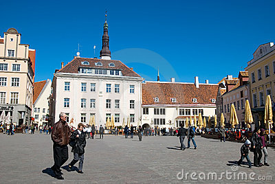 Estonia. Tallinn Editorial Stock Photo