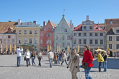 Estonia. Tallinn Editorial Image