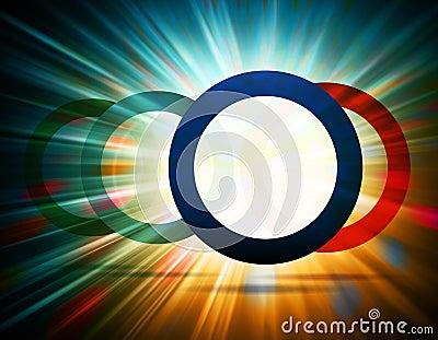 Estourando círculos