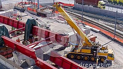 Estrada sob a reconstrução