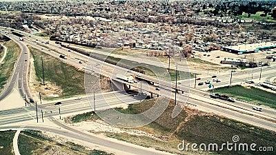 Estradas transversaas em Colorado filme