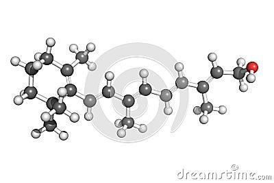 Estructura de la vitamina A