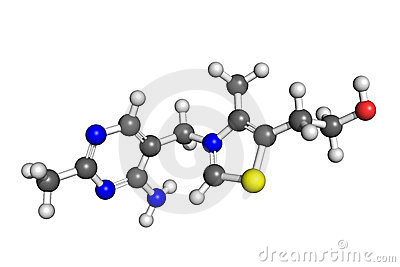 Estructura de la vitamina B1