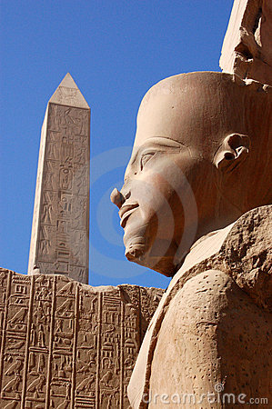 Estátua de Ramses, Karnak