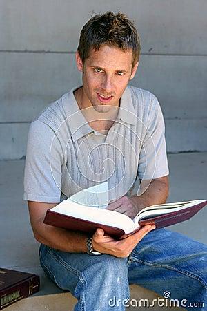 Estudante da leitura
