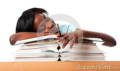 Estudiante desmotivado