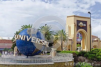 Estudios universales Orlando la Florida Imagen de archivo editorial