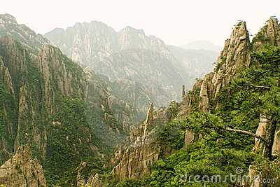 Eternal landscapes, chinese mountains