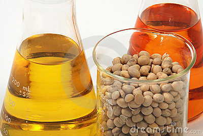 Ethanol produce by soy seeds