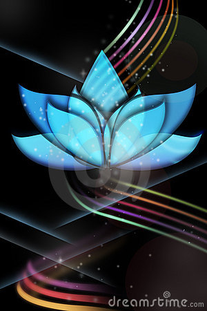 Ethereal Lotus for flyers and more