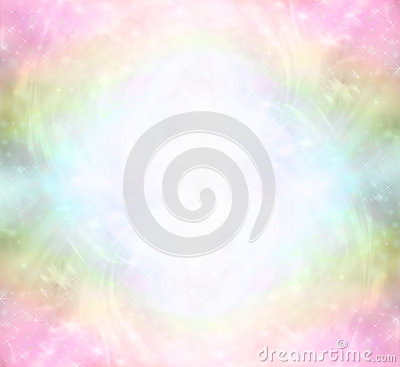 Free Ethereal Rainbow Healing Light Energy Field Royalty Free Stock Images - 50422839