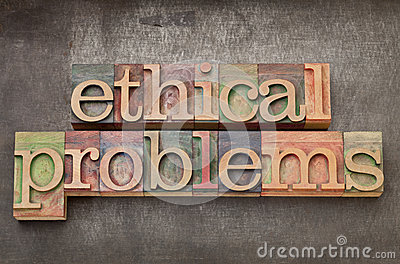 Ethical problems in wood type