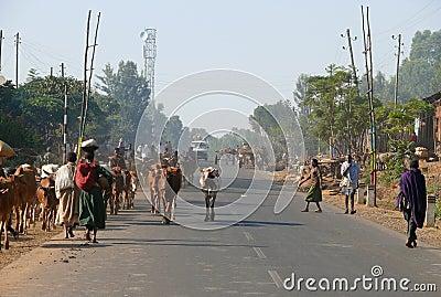 ETHIOPIA - NOVEMBER 24. Editorial Stock Image