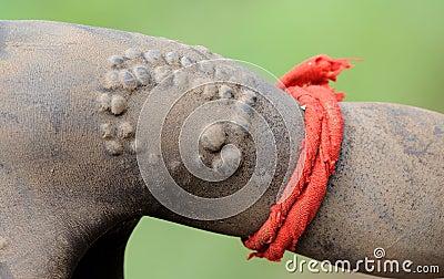 Ethiopian body scarification