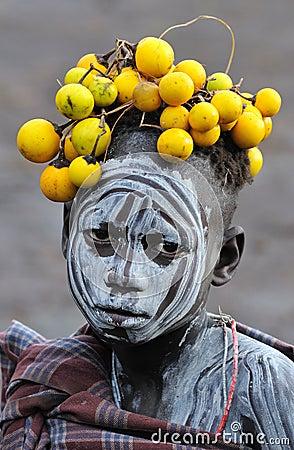 Ethiopian child Editorial Photo