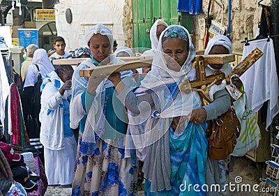Ethiopian Good Friday Editorial Image
