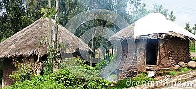Ethiopian huts