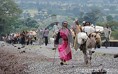 Ethiopian people Editorial Image