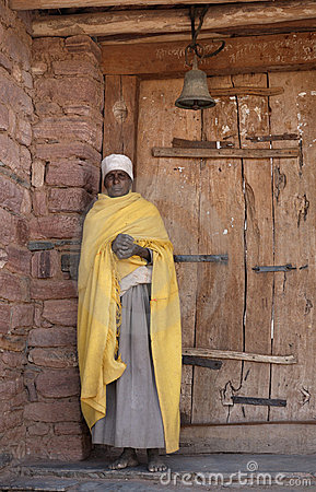 Ethiopian Priest 2 Editorial Stock Photo