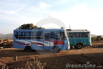 Ethiopian transport Editorial Stock Photo
