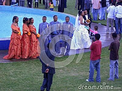 Ethiopian wedding, Africa Editorial Photo