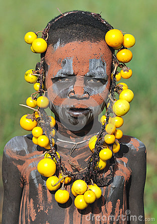 Ethiopian young boy Editorial Image