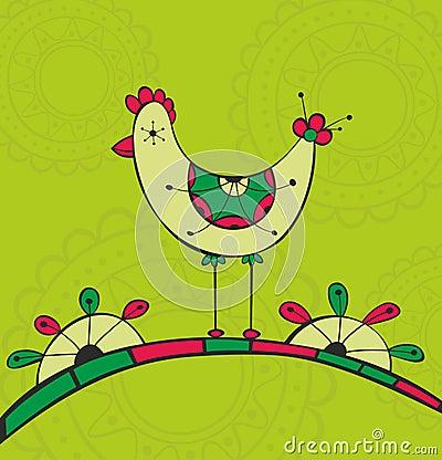 Ethnic bird