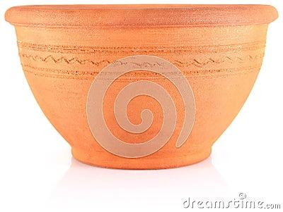 Ethnic clay tableware