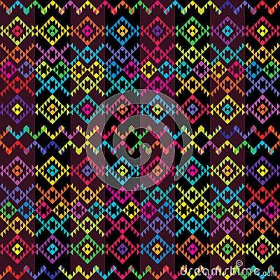 Ethnic colored carpet