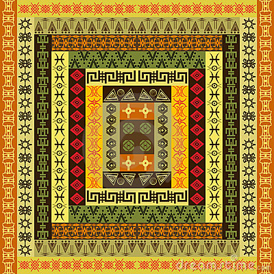 Ethnic colored texture