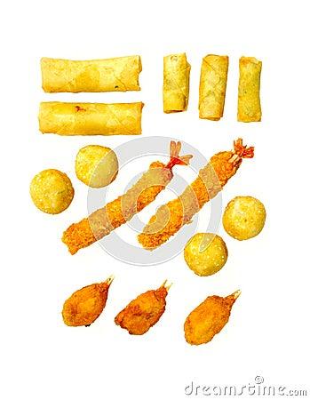 oriental fried delicacy