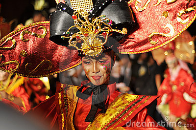 Ethnic Dancer Editorial Stock Photo