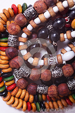 Ethnic esoteric beads