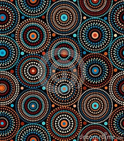Free Ethnic Geometric Pattern. Royalty Free Stock Photography - 21682147