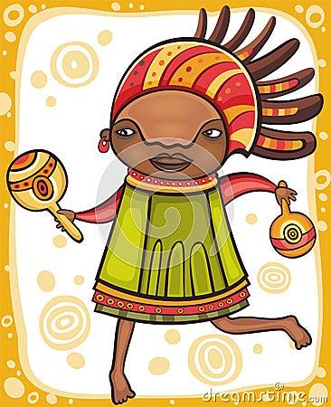 Ethnic girl 2