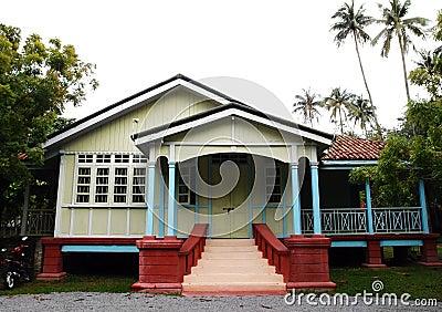 Ethnic house of Malacca, Malaysia