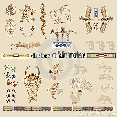 Ethnic images of Native Americans