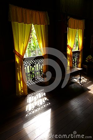 Ethnic Interior, old Malay house traditional